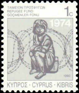 Cyprus #RA5-RA7, Complete Set(3), 1988-1990, Never Hinged