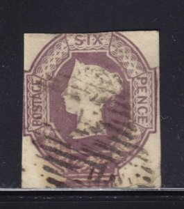 Great Britain Scott # 7 F-VF Used neat cancel nice color scv $ 1000 ! see pic !