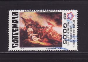 Guatemala C596 U American Bicentennial (B)