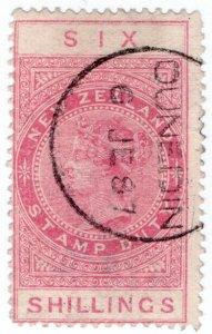 (I.B) New Zealand Revenue : Stamp Duty 6/- (Dunedin)