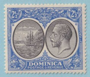 DOMINICA 72  MINT HINGED OG * NO FAULTS EXTRA FINE!