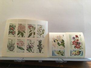 Staffa Scotland plant flowers Cowslips MNH stamps  R25301