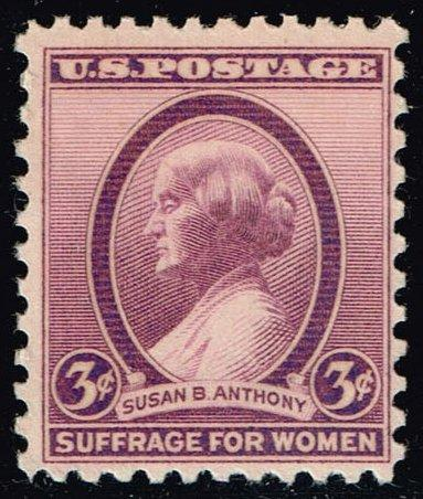 US #784 Susan B. Anthony; MNH (0.25)