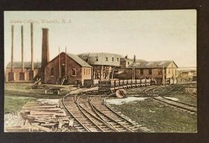 1907 Westville Nova Scotia Canada Acadia Colliery Railway Picture Postcard Cover