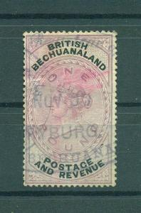 Bechuanaland sc# 21 used cat value $900.00