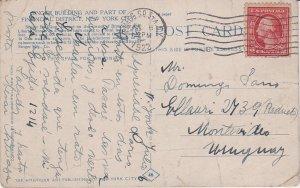 United States Washington Franklins 2c Washington Franklin 1922 Times Sq. Sta....