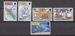 J26584  jlstamps 1999 Br antarctic terr set mnh #280-4 designs