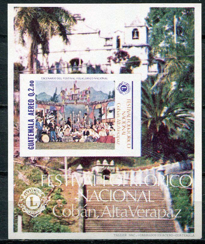 Guatemala 1988 coban folklore festival music lions for 1988 club music