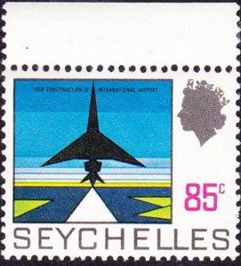SEYCHELLES 1972 QEII 85 cents Multicoloured SG272 MH