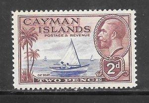 Cayman Islands #89 MH Single