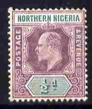 Northern Nigeria 1905-07 KE7 MCA 1/2d dull purple & g...