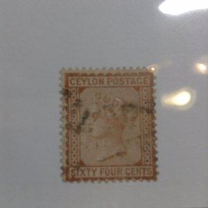 Ceylon  # 72  Used
