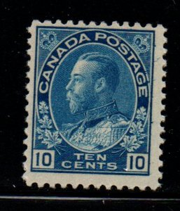 Canada Sc 117 1922 10 c blue G V Admiral issue stamp mint NH