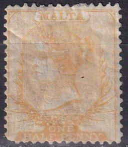 Malta #3 Used CV $70.00 (Z5737)