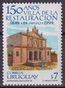 Uruguay 1999 The 150th Anniversary of Villa de la Restauracion  (MNH)  - Archite