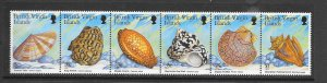 SHELLS - VIRGIN ISLANDS #919  MNH