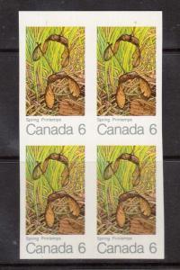 Canada #535a XF/NH Imperf Block