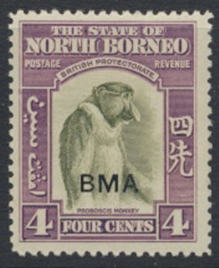 North Borneo  SG 323 SC# 211 MLH  OPT BMA  See scans / details
