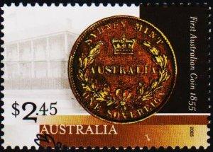 Australia. 2005 $2.45 Fine Used