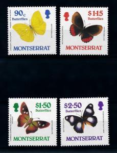 [71078] Montserrat 1987 Insects Butterflies  MNH