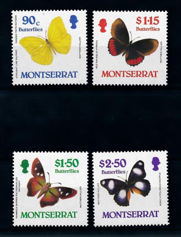 [71078] Montserrat 1987 Insects Butterflies  MNH