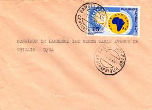 French Equatorial Africa Central African Republic 25F African Unity 1964 Bang...