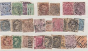 British Commonweallth QV Unchecked Collection of 21 Used X9430