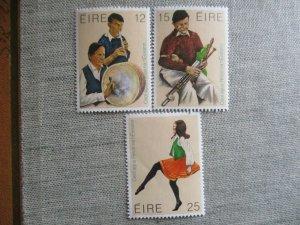 Ireland, Scott#484-486, MNH