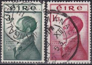 Ireland #149-50  F-VF Used CV $26.35 (K2256)