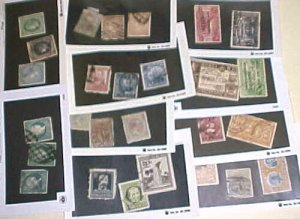CUBA STAMPS 11 DIFF. #2/J2 CAT.$95.00 INCLUDE #110,261 USED