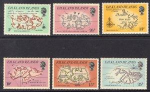 FALKLAND ISLANDS SCOTT 318-323