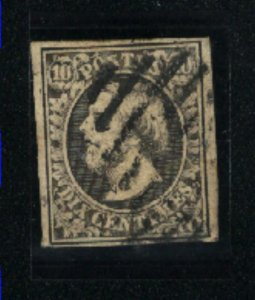Luxembourg 1   used  1852 PD