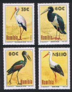 Namibia Storks Birds 4v 1994 MNH SC#766-769 SG#649-652 MI#776-779