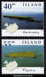 Iceland Scott 949-950 Mint never hinged.
