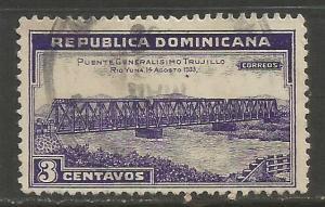 Dominican Rep. 294 VFU BRIDGE L304-2