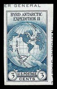 PCBstamps      US # 735a S.S. sgl. 3c Byrd Antarctic, MNH, (22)