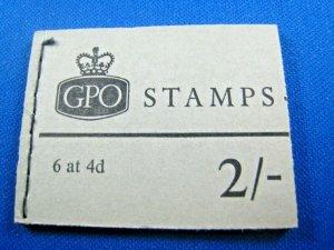 GREAT BRITAIN 1969 COMPLETE MNH STAMP BOOKLET -  2/     (kbgbbk2)