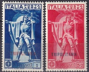 Tripolitania #C2-3 F-VF  Unused CV $24.50 (Z6874)