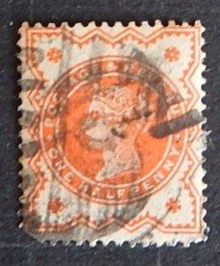 Great Britain, Queen Victoria 1887-1892, SG:197; SC #111, (№1370-T)