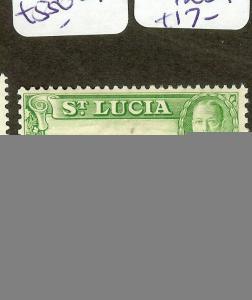 ST LUCIA  (B1201) KGV  1/2D  SG113A  MOG