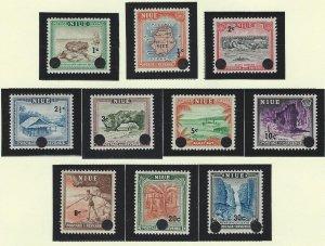 Niue   mnh sc  106-115