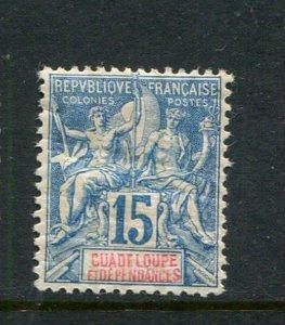 Guadeloupe #34 Mint