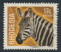 Rhodesia   SG 564 SC# 402  Used Zebra see details