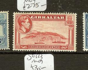 GIBRALTAR (B0402)  KGVI  1  1/2D  SG123A  MOG