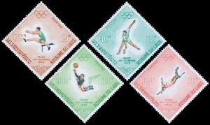 Laos Scott 178-181 (1968) Mint NH VF Complete Set W