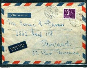 Hungary 1929 Cover to USA 11467