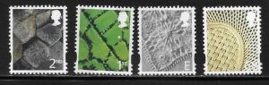Great Britain Northern Ireland 17-20 2003 Definitives MNH
