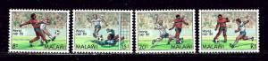 Malawi 482-85 MNH 1986 Soccer
