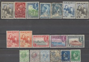 COLLECTION LOT # 3736 NETHERLANDS ANTILLES 18 STAMPS 1873+ CLEARANCE CV+$23
