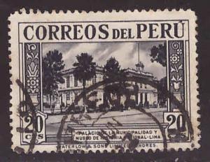 Peru  Scott 364 used stamp